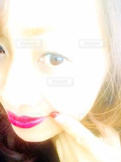 ピンクのリップカラ- - No.1167266
