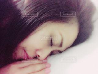 睡眠中(*^ω^*)スヤスヤの写真・画像素材[1478851]