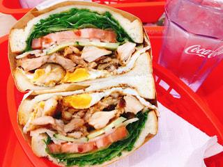 人気サンドイッチ専門店の写真・画像素材[1615479]