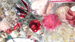 クリスマスツリー飾りものの写真・画像素材[1632052]