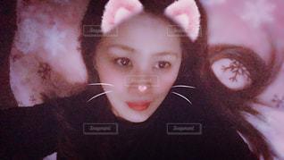 猫に変身(^O^)の写真・画像素材[1677582]
