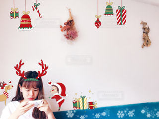 クリスマスデコの写真・画像素材[1680993]