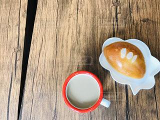 手作りクリームパンの写真・画像素材[2119972]