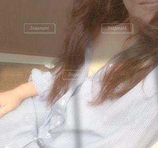 お気に入りの部屋着の写真・画像素材[2338896]