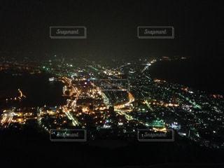 夜の街の景色の写真・画像素材[726207]