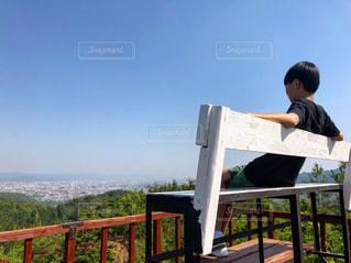 景色最高ー!!の写真・画像素材[2153847]