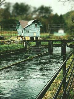 水の上の橋の写真・画像素材[751161]