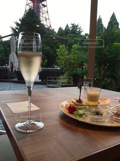 テーブル ワインのグラス - No.731140