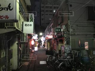 新宿ゴールデン街の写真・画像素材[729138]