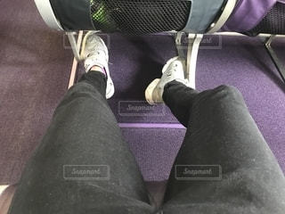 ピーチの非常口座席の写真・画像素材[2174755]