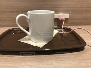 電源のあるカフェは神の写真・画像素材[2968405]