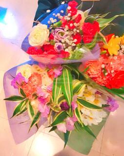 4つの花束の写真・画像素材[1780009]