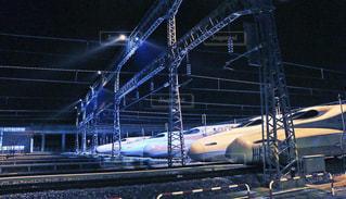 鋼のトラックの列車の写真・画像素材[928760]