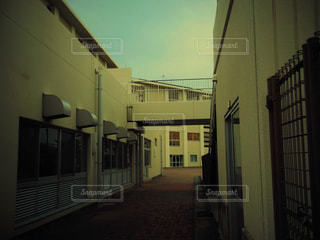 夕方の学校の写真・画像素材[761644]