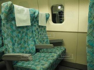 新幹線のシートの写真・画像素材[952652]