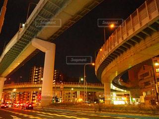 夜の街の写真・画像素材[1015710]