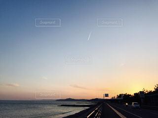 夕日の写真・画像素材[731133]