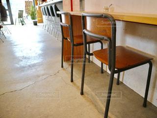 カフェの椅子。の写真・画像素材[869889]
