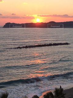 沈む夕日6の写真・画像素材[743820]