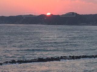 沈む夕日9の写真・画像素材[743824]