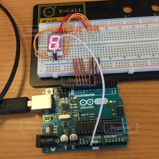 Arduinoによる電子工作の写真・画像素材[730247]