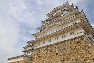 大規模な石造りの建物の写真・画像素材[730432]