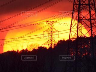 日没の前にトラフィック ライト - No.755683