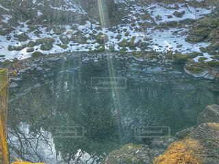 滝壺の写真・画像素材[1036034]