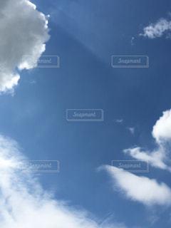 台風の後の青空の写真・画像素材[731877]