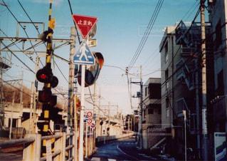 大井町線の線路脇 - No.827002