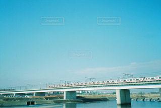 多摩川を走る東横線 - No.827103