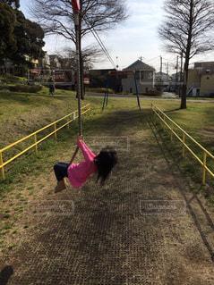 遊んでいる子供の写真・画像素材[738506]