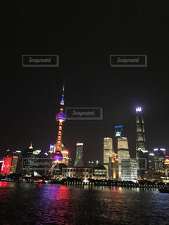 上海夜景3の写真・画像素材[775170]