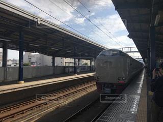 寝台列車サンライズ瀬戸の写真・画像素材[733479]