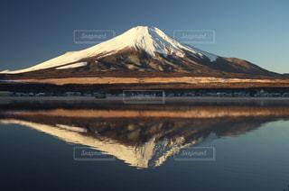 逆さ富士の写真・画像素材[764807]