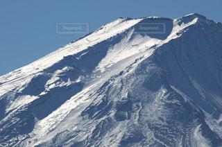 雪富士の写真・画像素材[772957]