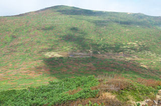 雲の影in那須岳の写真・画像素材[828456]