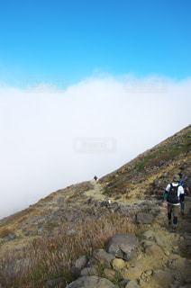 那須岳登山の写真・画像素材[829830]