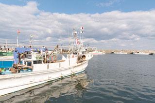 鹿部漁港の写真・画像素材[834767]