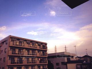 空に虹。の写真・画像素材[844196]