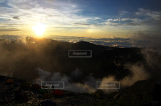 日本で二番目に高い山、北岳。の写真・画像素材[872559]