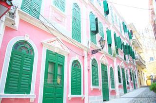 ピンクの建物 - No.918202