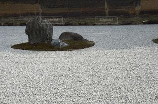 枯山水の写真・画像素材[1050506]