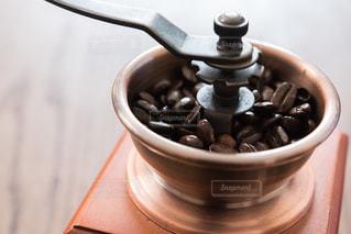 コーヒーミルの写真・画像素材[1096313]