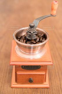 コーヒーミルの写真・画像素材[1096339]