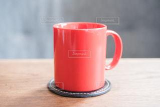 赤のコップ - No.1096443