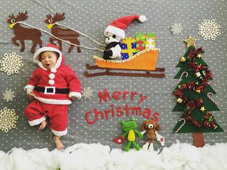 クリスマスのころりんこアート - No.734479