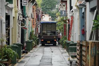 シンガポールの小道の写真・画像素材[761425]