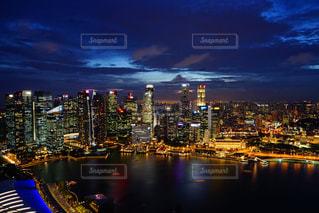 シンガポールの夜景の写真・画像素材[761426]