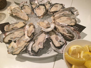 生牡蠣食べるぞの写真・画像素材[736129]